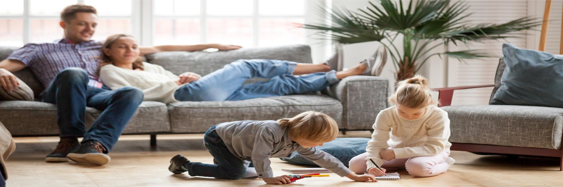 Wir streichen Ihr Wohnung, lehnen Sie sich beruhigt zurück